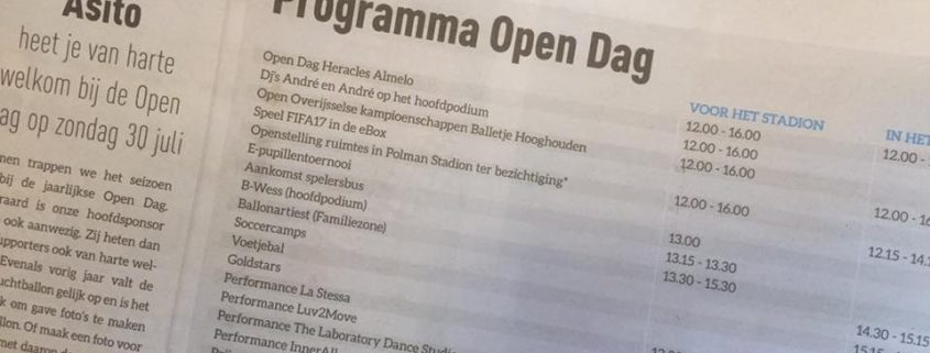 Open Dag Heracles Almelo 2017